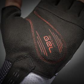 GripGrab Aero TT Raceday Short Finger Gloves Unisex, white/black